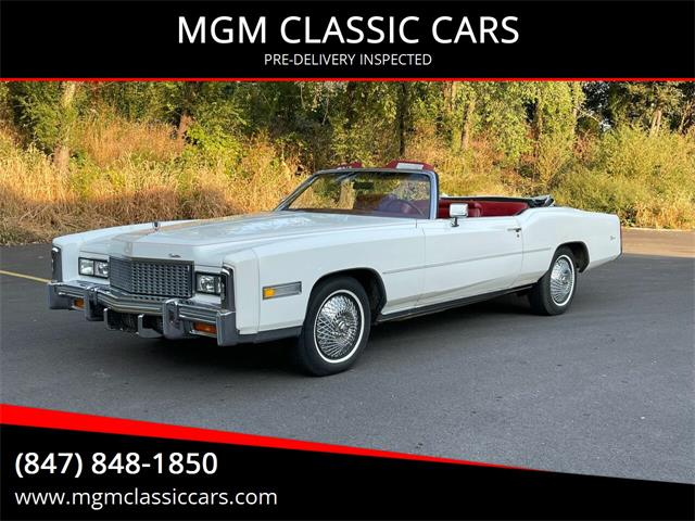 1976 Cadillac Eldorado (CC-1530396) for sale in Addison, Illinois