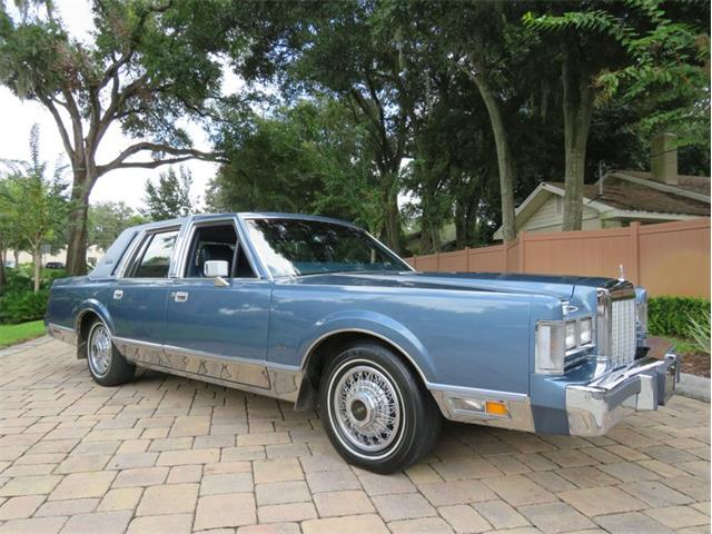 1986 Lincoln Town Car (CC-1530451) for sale in Lakeland, Florida