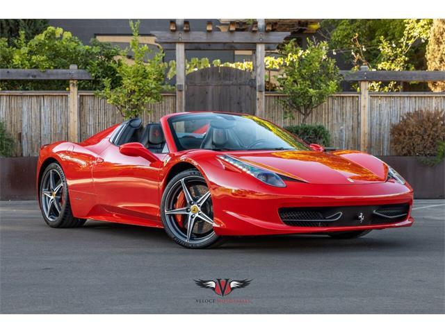 2013 Ferrari 458 (CC-1530522) for sale in San Diego, California