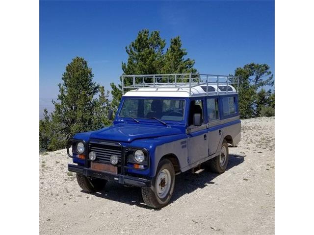 1985 Land Rover Santana (CC-1530569) for sale in Cadillac, Michigan