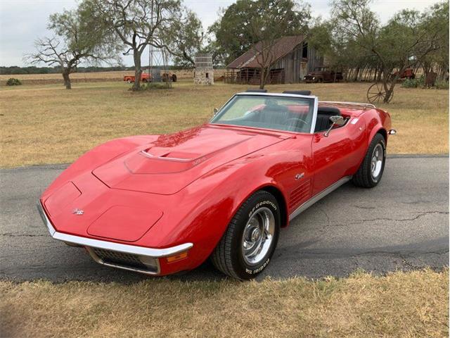1971 Chevrolet Corvette (CC-1530635) for sale in Fredericksburg, Texas