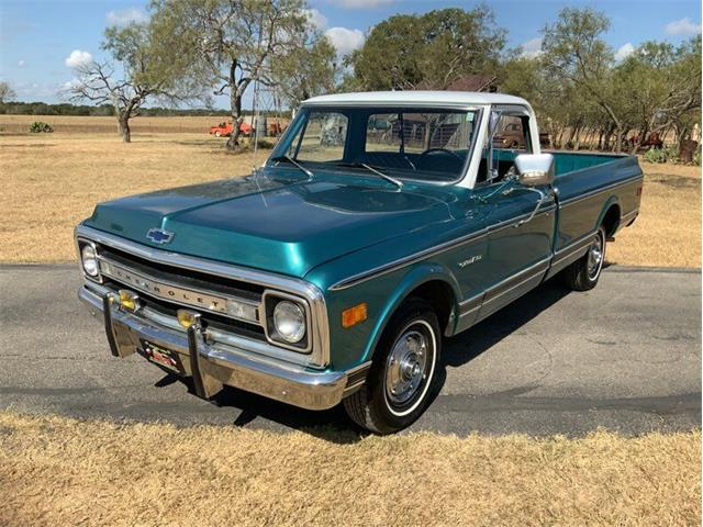 1969 Chevrolet C/K 10 (CC-1530638) for sale in Fredericksburg, Texas