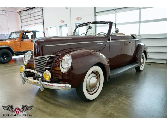 1940 Ford Deluxe (CC-1530653) for sale in Rowley, Massachusetts