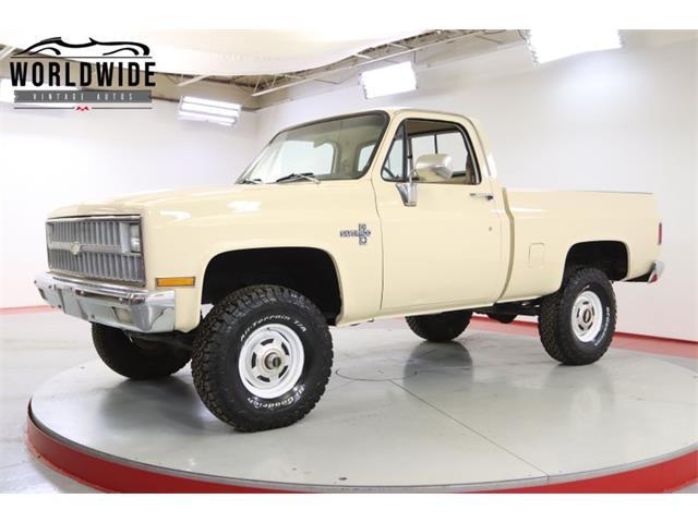 1981 Chevrolet K-10 (CC-1530809) for sale in Denver , Colorado