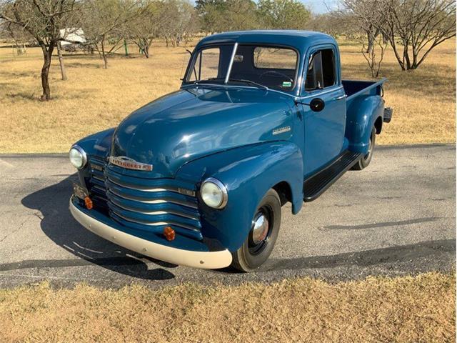1952 Chevrolet 3100 (CC-1530888) for sale in Fredericksburg, Texas