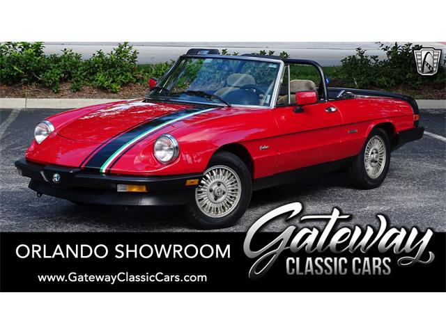 1986 Alfa Romeo Spider (CC-1530927) for sale in O'Fallon, Illinois