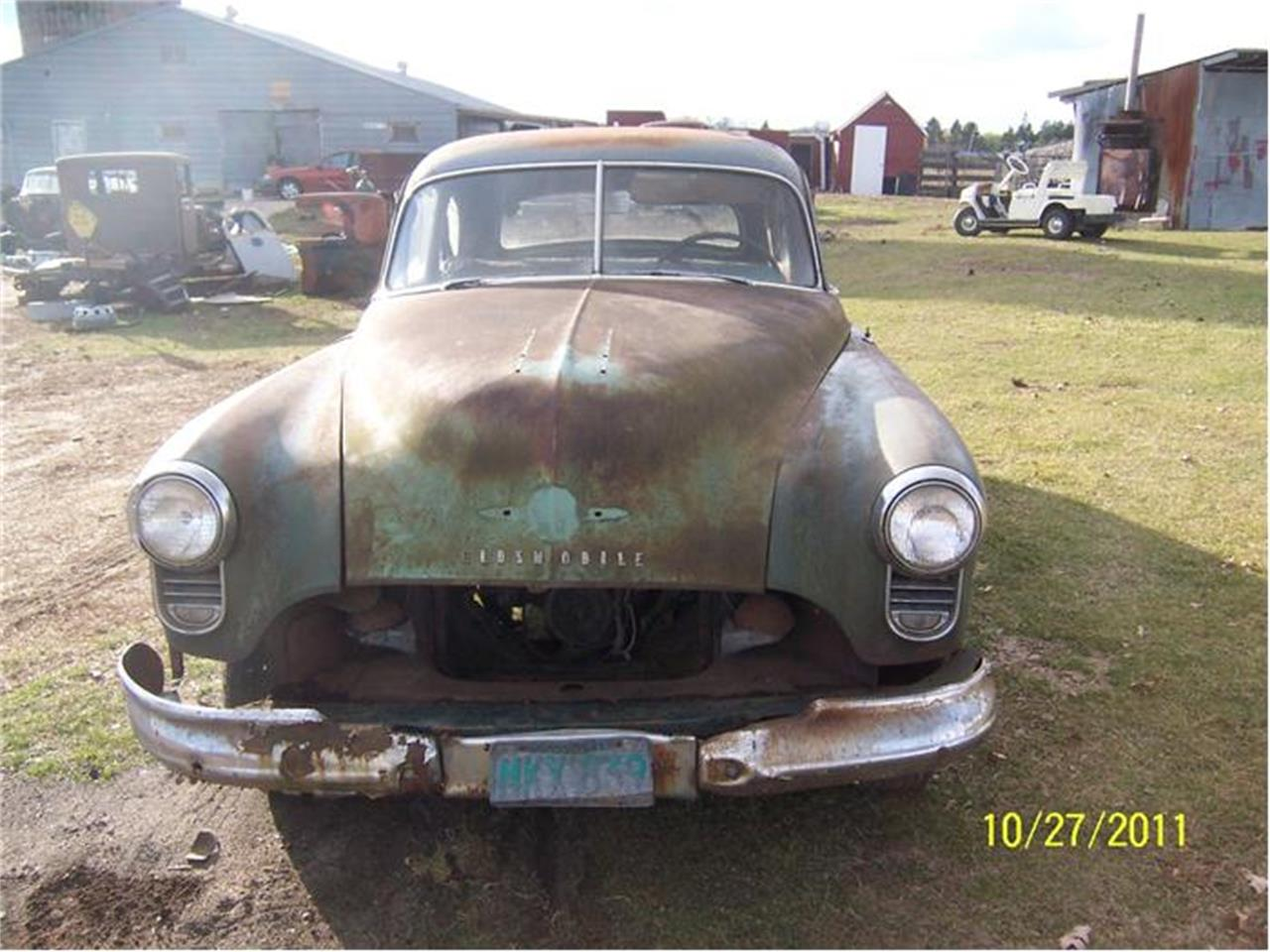 1950 Oldsmobile Business Coupe (CC-262398) for sale in Parkers Prairie, Minnesota
