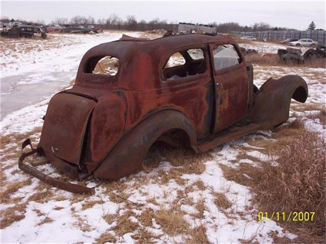 1935 Plymouth 2-Dr Sedan (CC-36936) for sale in Parkers Prairie, Minnesota