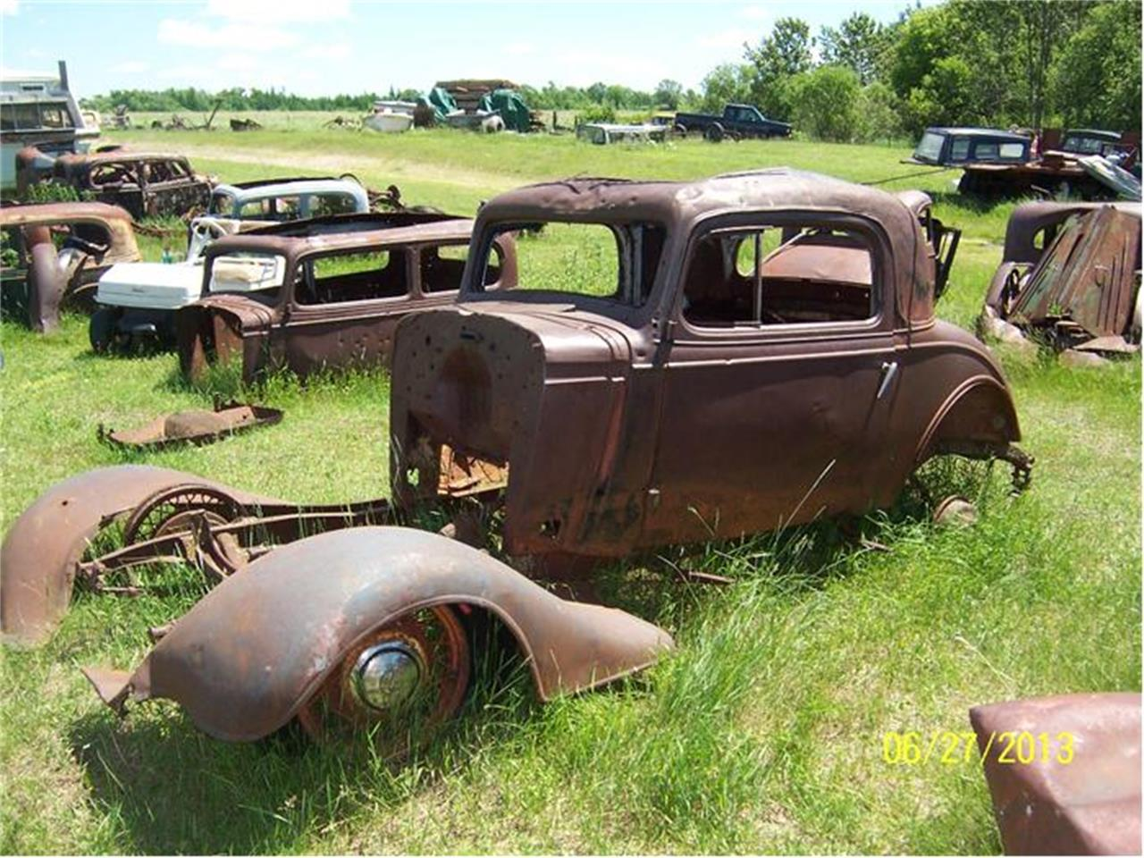 1935 Chevrolet 3-Window Coupe (CC-467201) for sale in Parkers Prairie, Minnesota