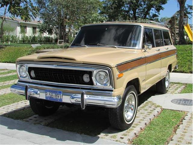 1977 Jeep Wagoneer (CC-496923) for sale in San Salvador, San Salvador