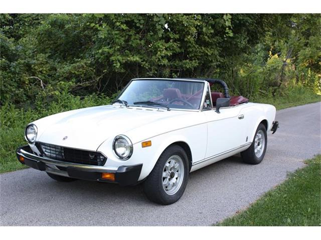 1981 Fiat Spider (CC-504753) for sale in Sherwood, Wisconsin