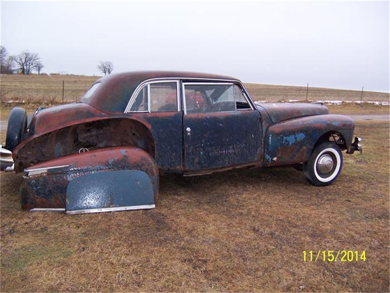 1942 Lincoln Continental (CC-615597) for sale in Parkers Prairie, Minnesota