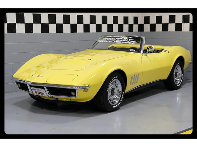 1968 Chevrolet Corvette (CC-637791) for sale in Old Forge, Pennsylvania