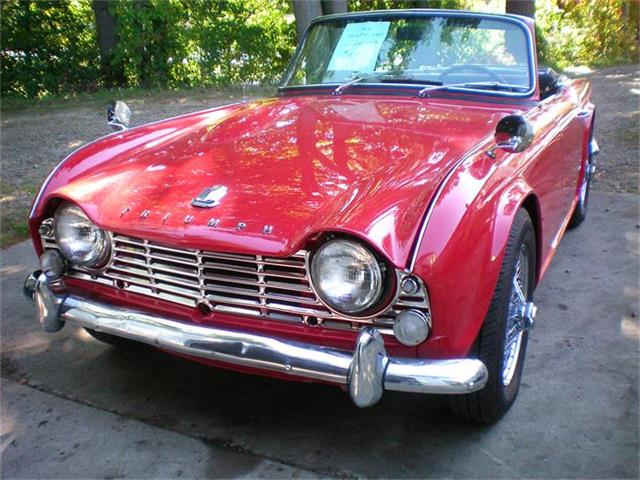 1965 Triumph TR4 (CC-652217) for sale in Rye, New Hampshire