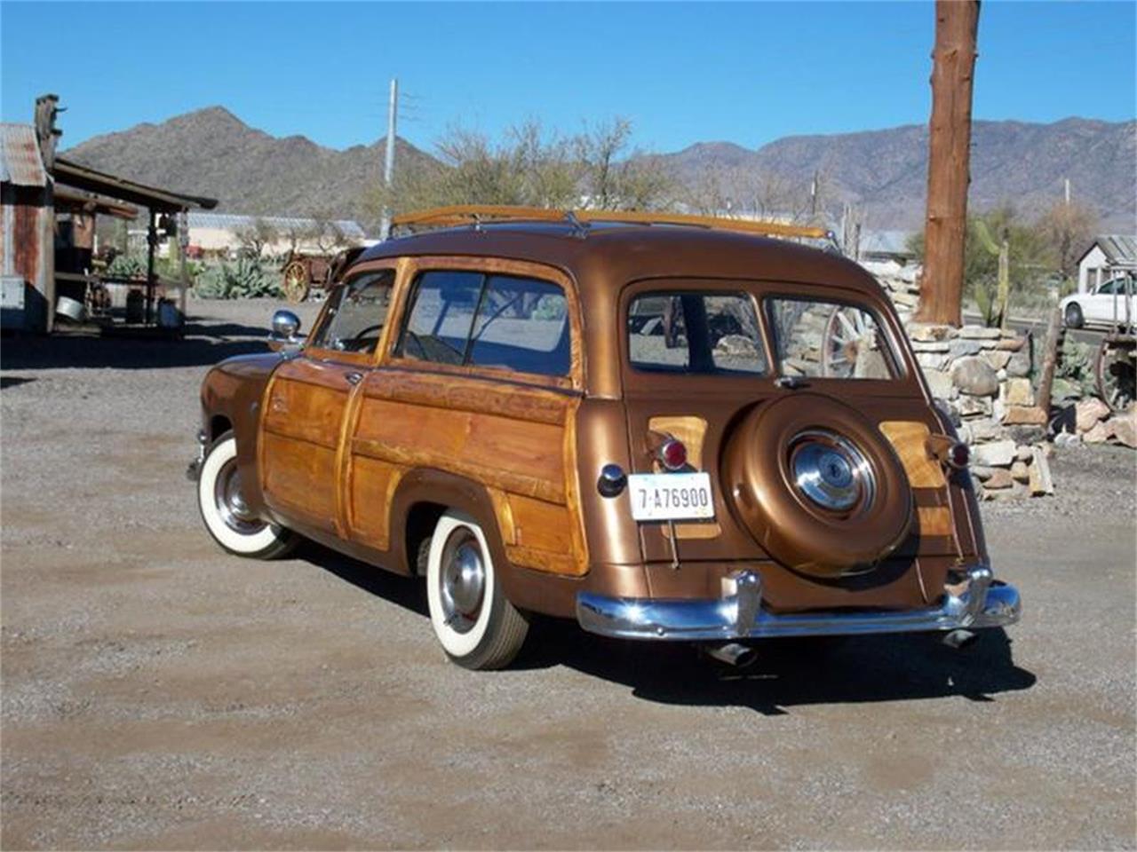 1951 Ford Woody Wagon (CC-666593) for sale in San Luis Obispo, California