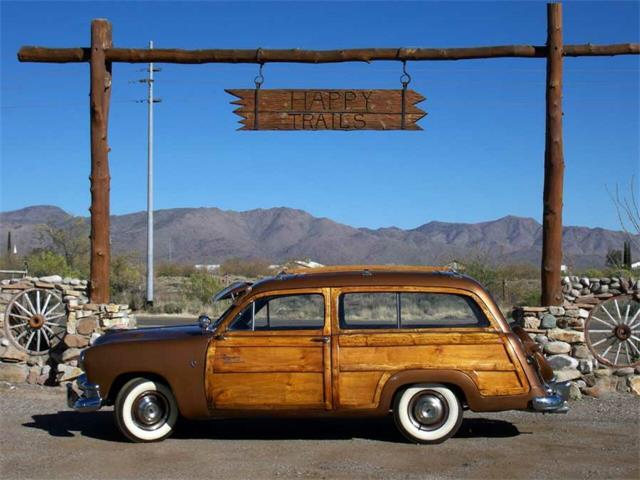 1951 Ford Woody Wagon (CC-666593) for sale in San Luis Obispo, California