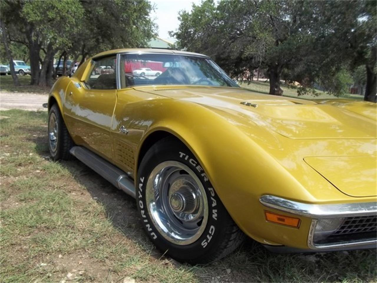 1971 Chevrolet Corvette (CC-691122) for sale in Liberty Hill, Texas