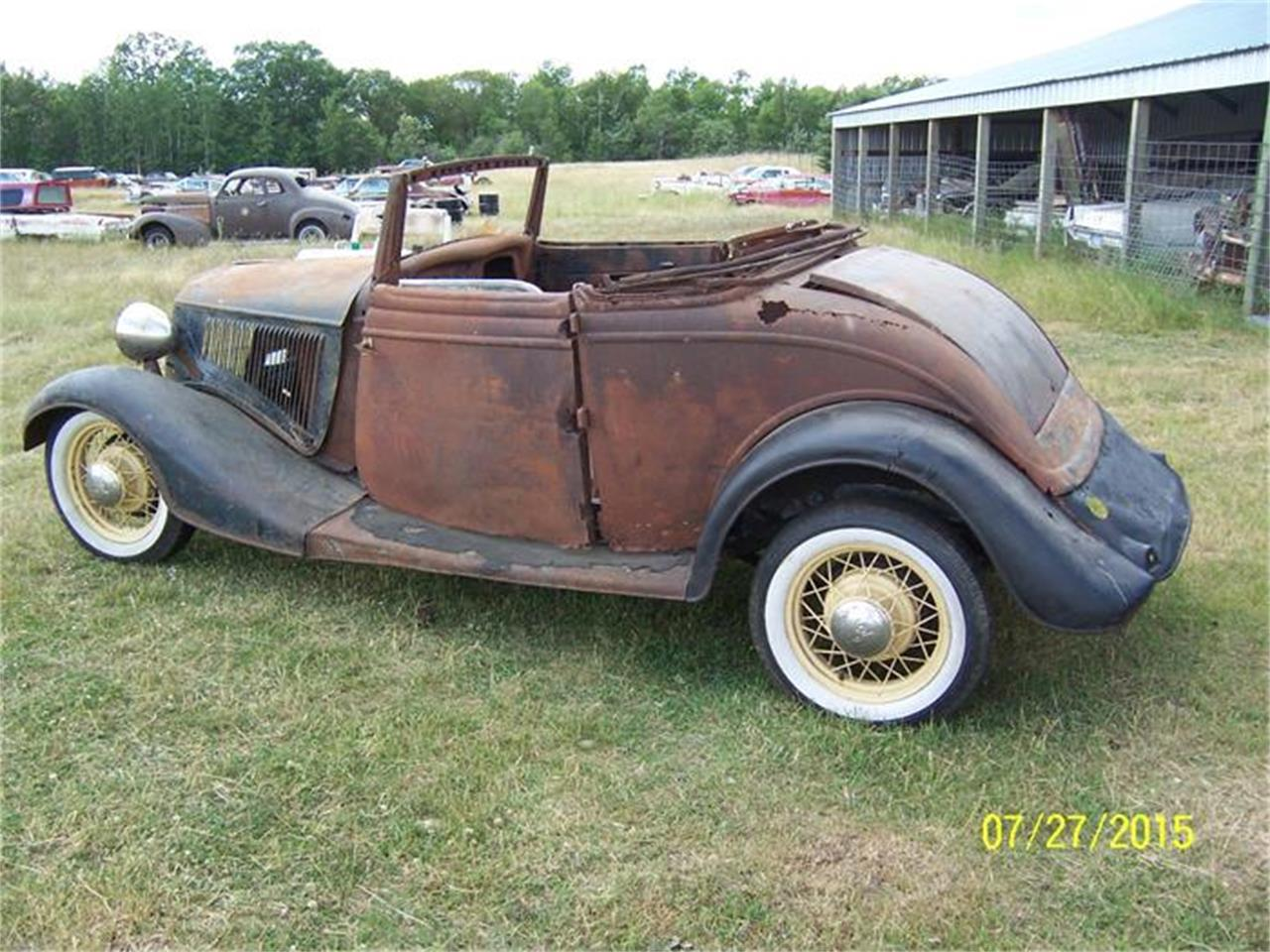 1934 Ford Cabriolet (CC-703166) for sale in Parkers Prairie, Minnesota