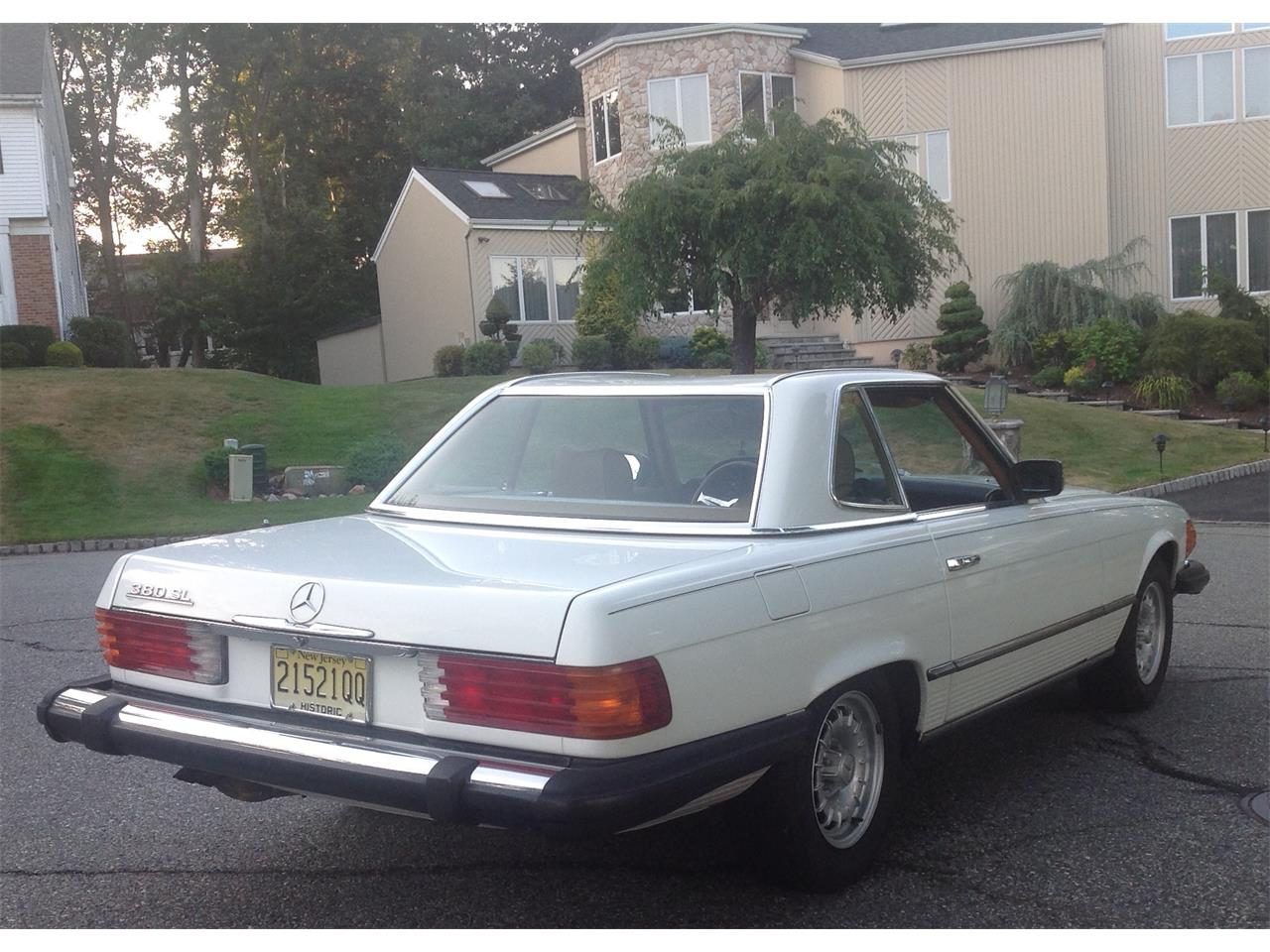 1984 Mercedes-Benz 380SL (CC-706136) for sale in Morristown, New Jersey