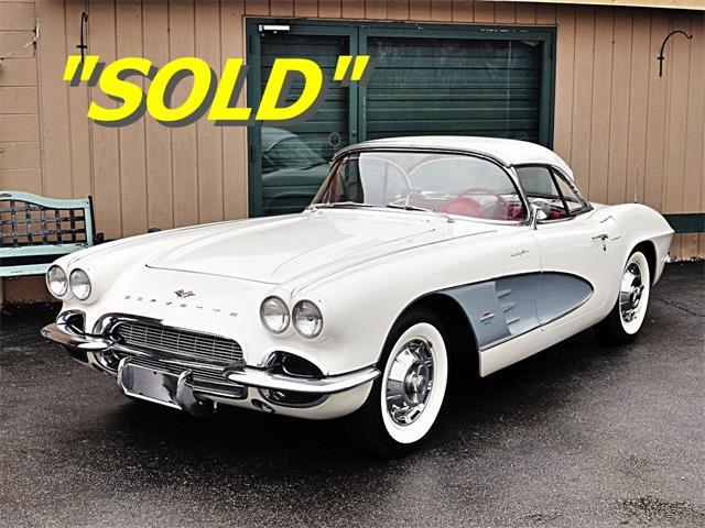 1961 Chevrolet Corvette (CC-715340) for sale in Old Forge, Pennsylvania