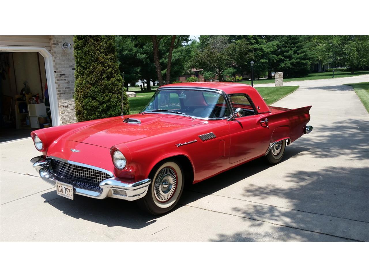 1957 Ford Thunderbird (CC-717358) for sale in Charleston, Illinois