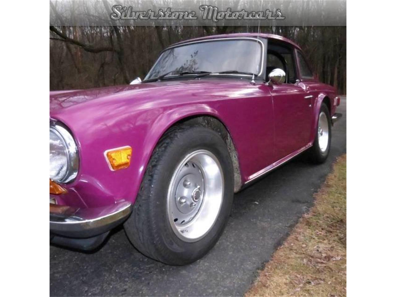 1974 Triumph TR6 (CC-710846) for sale in North Andover, Massachusetts