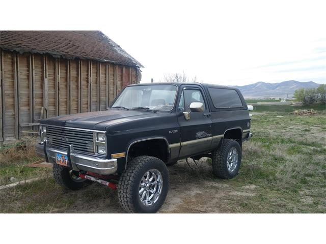 1985 Chevrolet Blazer (CC-731745) for sale in Howell, Utah