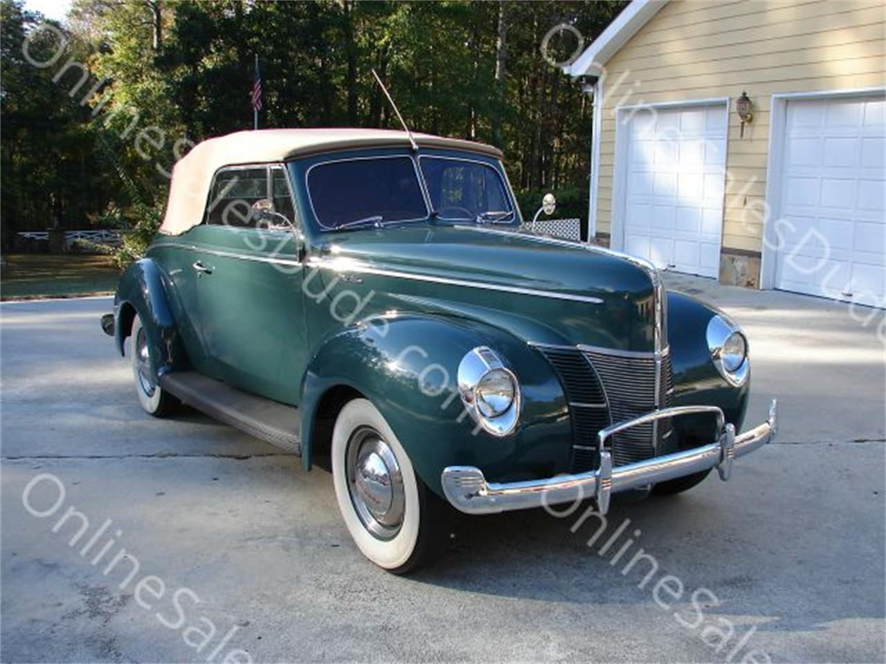 1940 Ford Convertible For Sale Classiccars Com Cc 742557