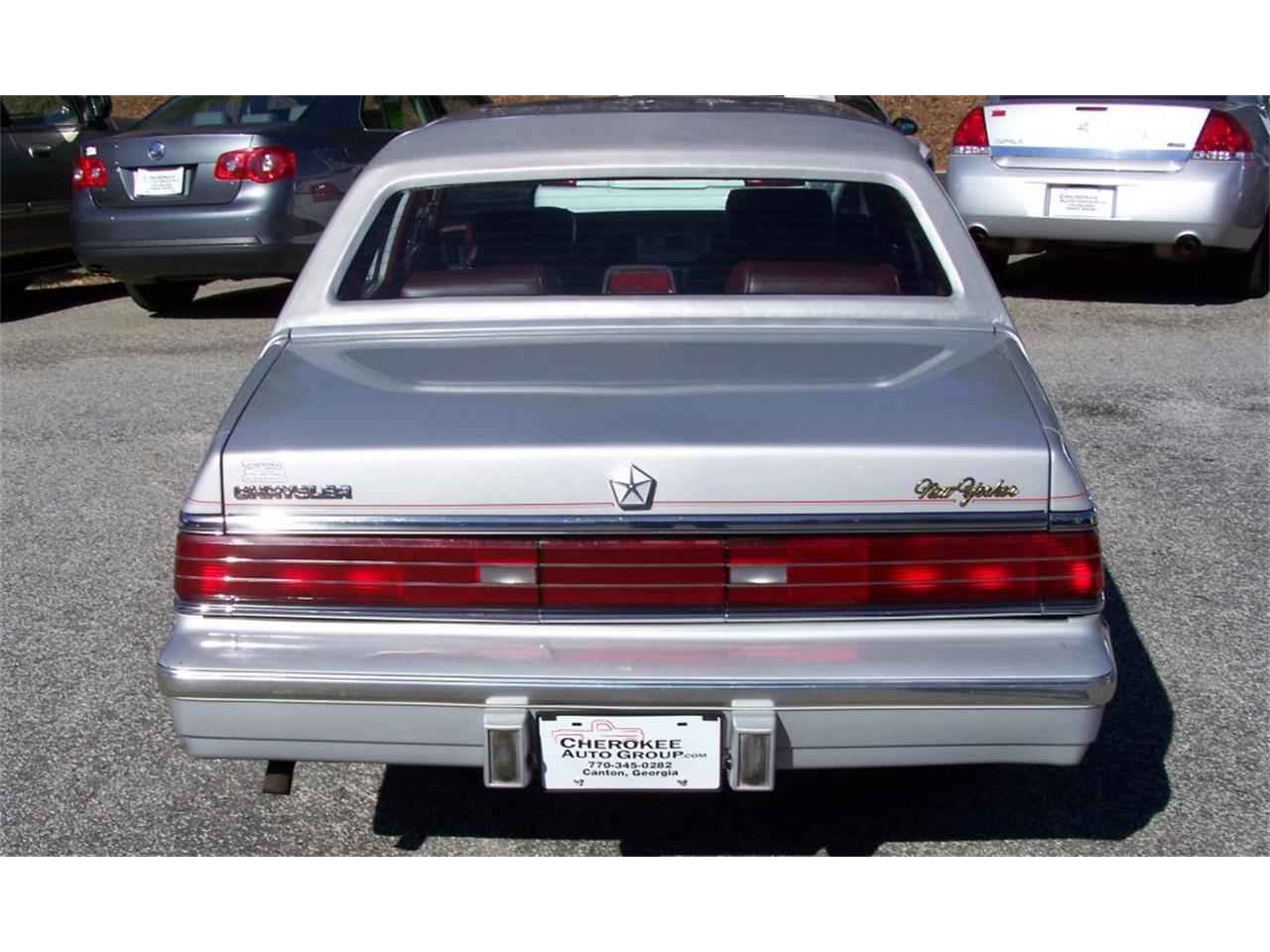 1987 chrysler new yorker turbo for sale classiccars com cc 743401 1987 chrysler new yorker turbo for sale