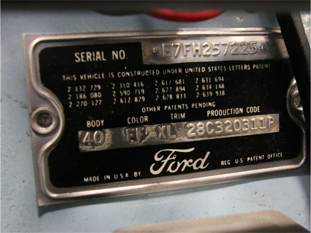 1957 Ford Thunderbird (CC-746158) for sale in Lithia Springs, Georgia