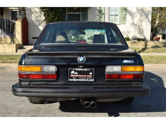 1988 BMW M5 (CC-769115) for sale in Los Angeles, California
