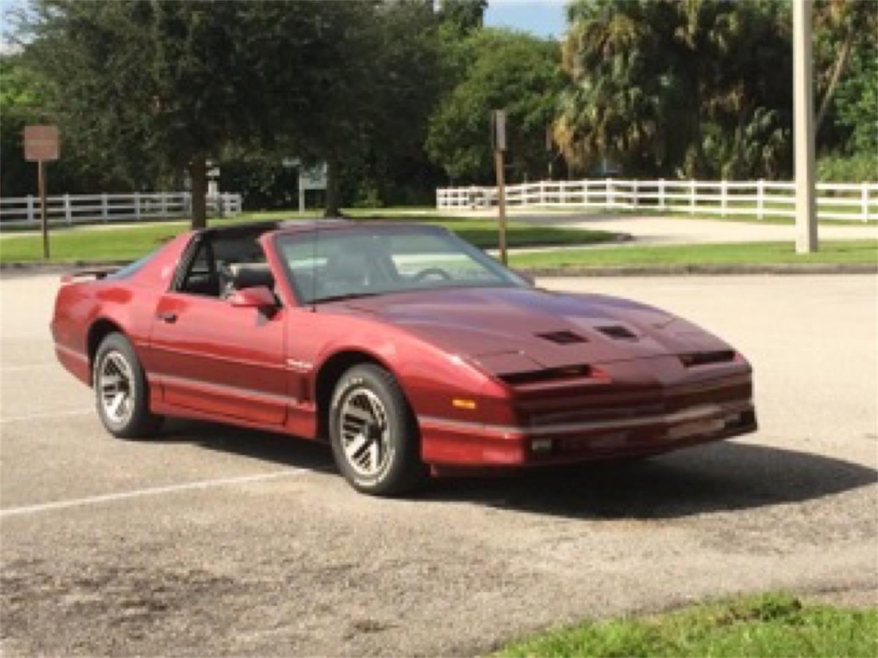 1986 pontiac firebird trans am for sale classiccars com cc 777738 1986 pontiac firebird trans am for sale
