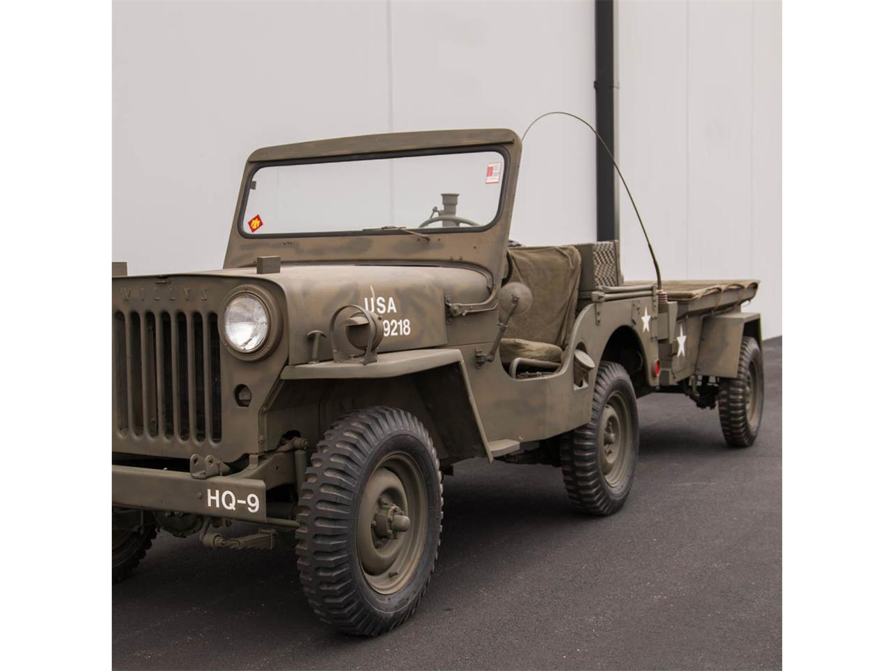 Military Jeeps For Sale >> 1952 Willys Military Jeep For Sale Classiccars Com Cc 791583