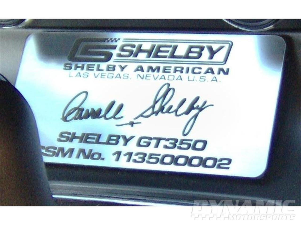 2011 Shelby GT350 (CC-798810) for sale in Garland, Texas