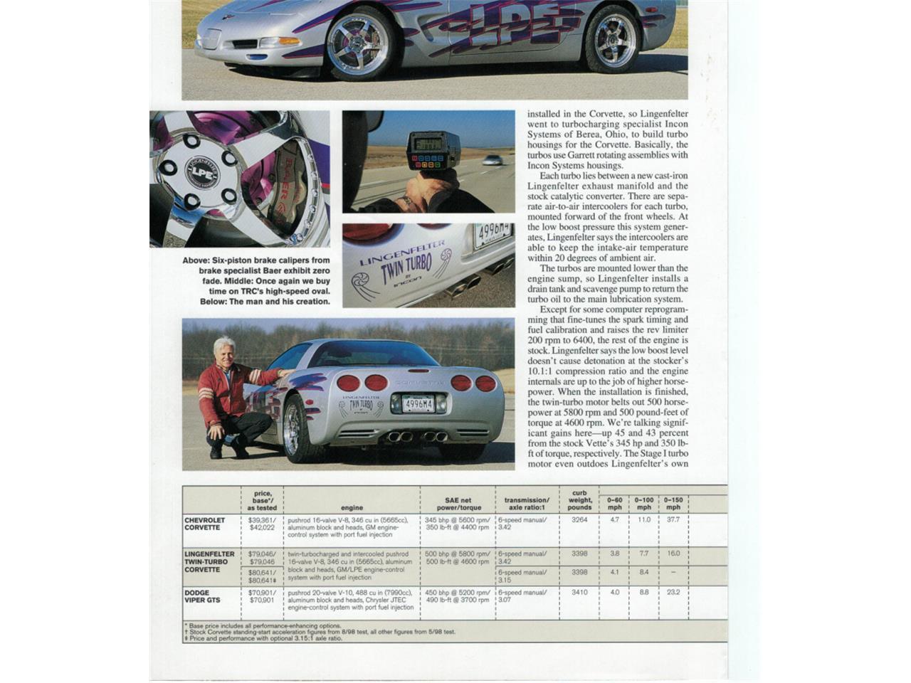 1999 Chevrolet Corvette (CC-822085) for sale in Calgary, Alberta