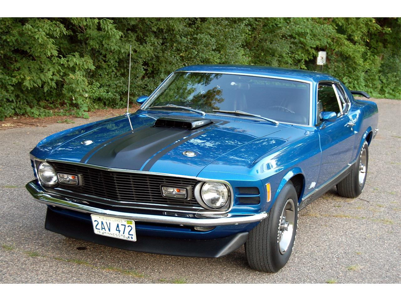 1970 Ford Mustang Mach 1 for Sale | ClassicCars.com | CC-834553