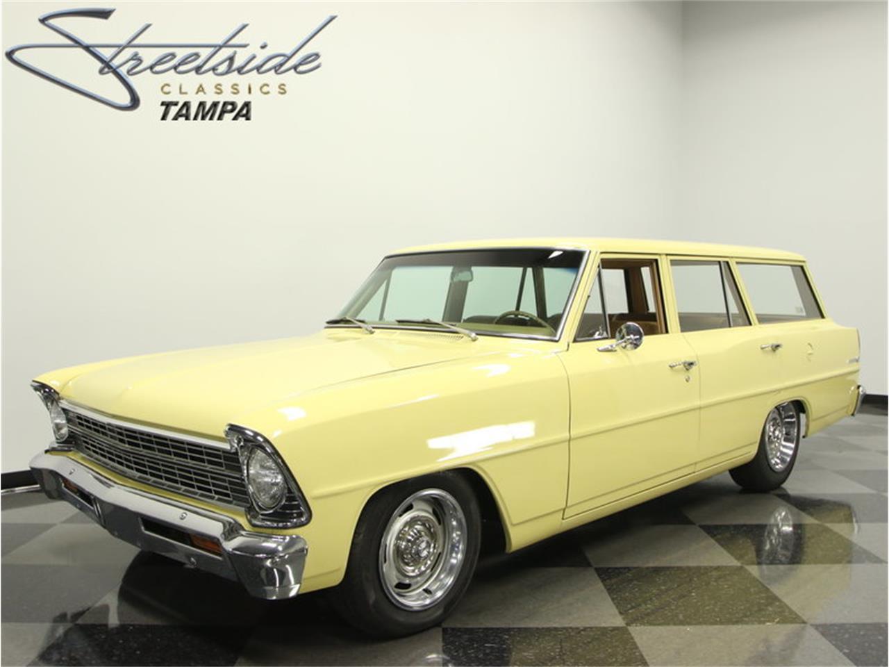 1967 Chevrolet Nova Chevy Ii Wagon For Sale Classiccars Com Cc 835540
