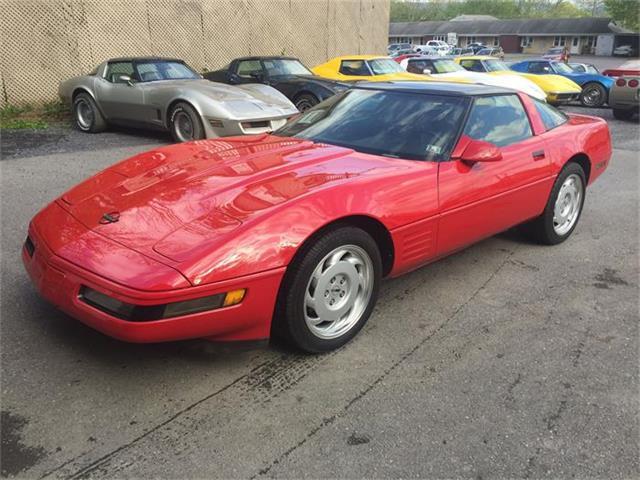 1992 Chevrolet Corvette (CC-840364) for sale in Mount Union, Pennsylvania