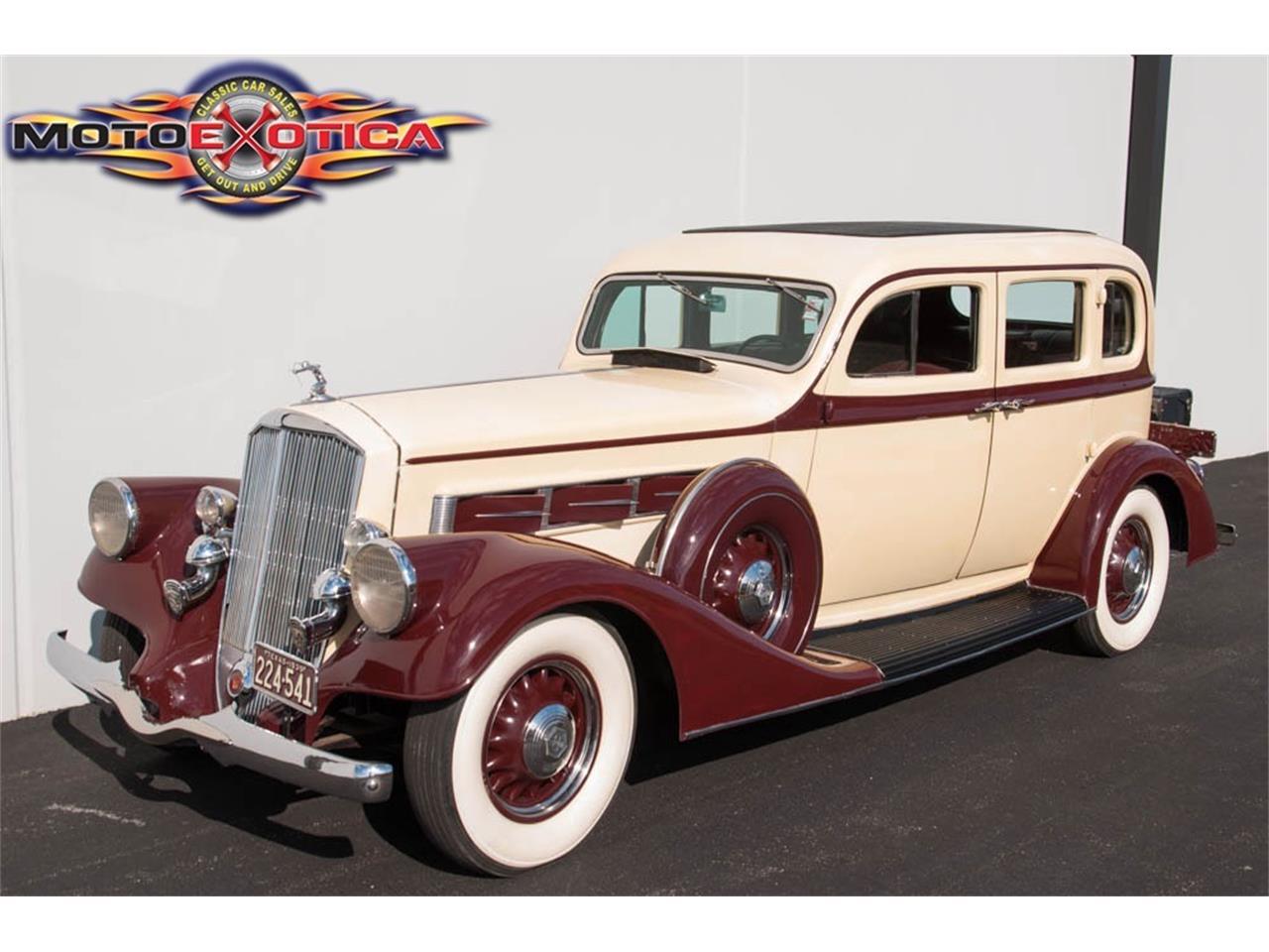 1935 Pierce Arrow 845 Sedan For Sale Classiccars Com