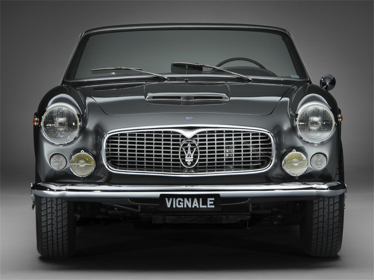 1963 Maserati 3500 GTI Vignale Spyder for Sale ...
