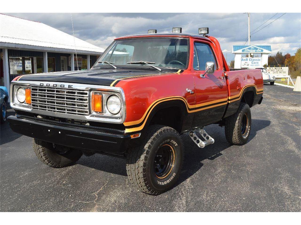 1978 Dodge Power Wagon For Sale Classiccars Com Cc 887993