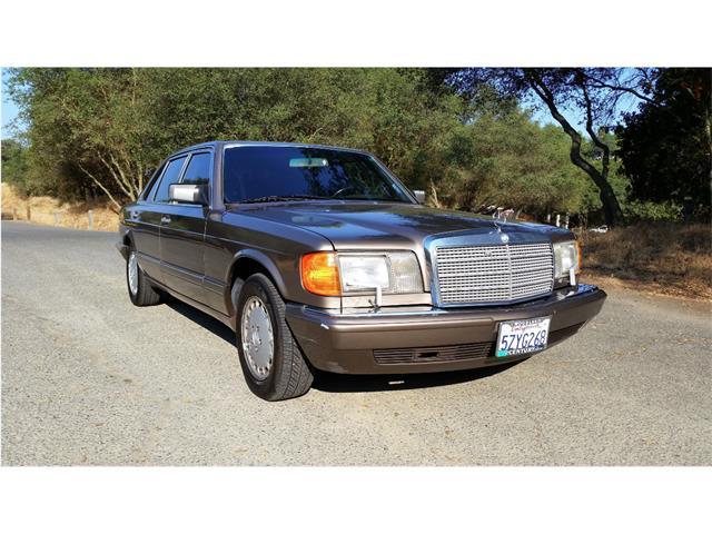 1989 Mercedes-Benz 420SEL (CC-888042) for sale in Rancho Cordova, California