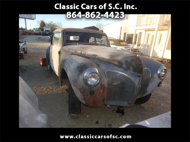 1941 Lincoln Continental (CC-888564) for sale in Gray Court, South Carolina