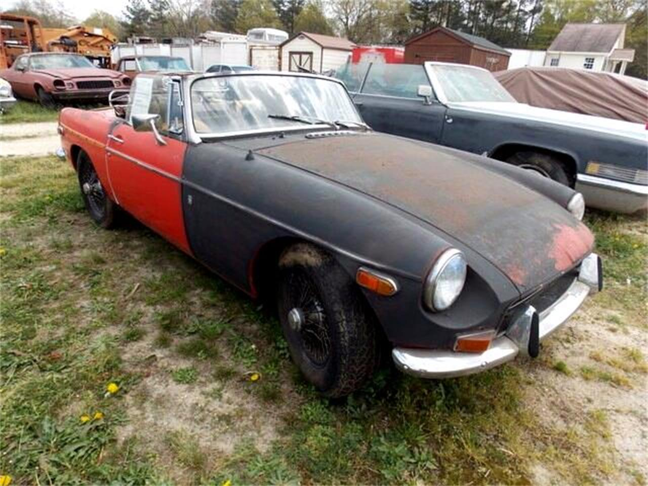 1972 MG MGB (CC-888584) for sale in Gray Court, South Carolina