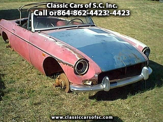 1968 MG MGB (CC-888623) for sale in Gray Court, South Carolina