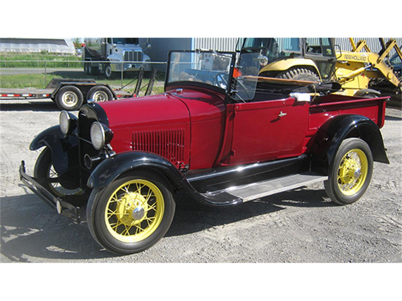 1928 Ford Model A Roadster Pickup For Sale Classiccars Com Cc 891109