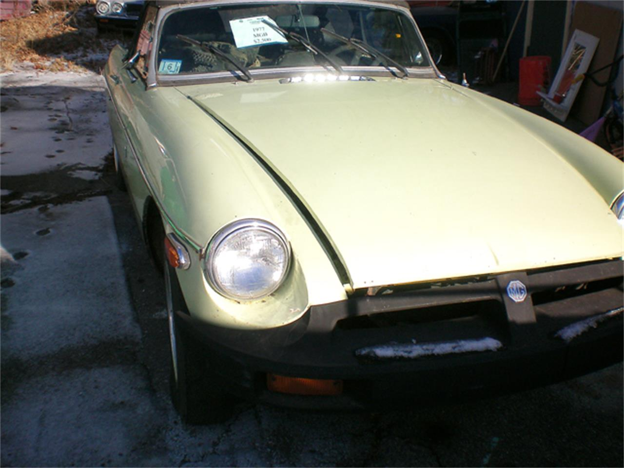 1977 MG MGB (CC-901780) for sale in Rye, New Hampshire