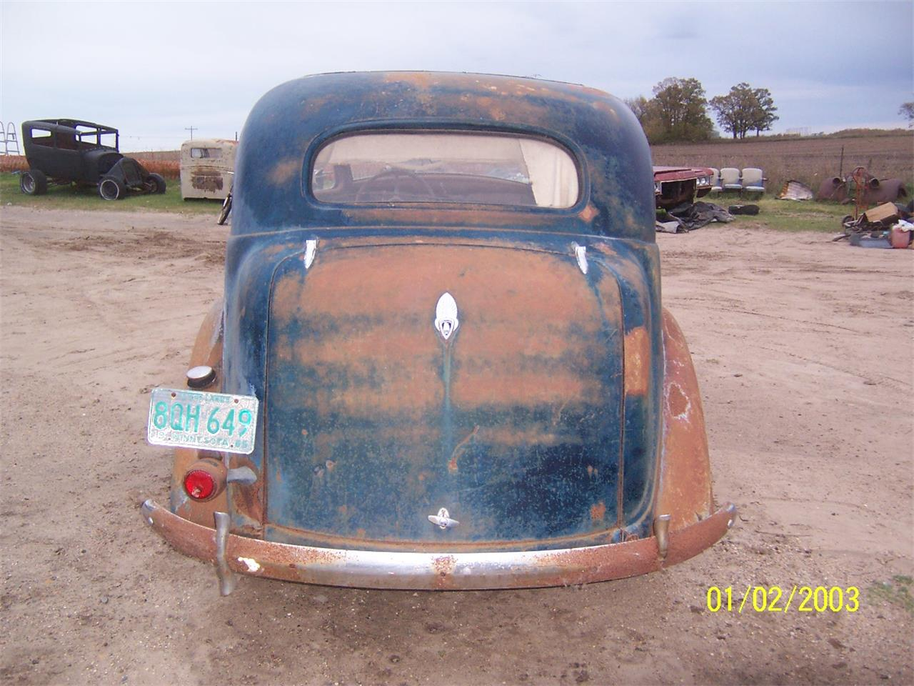 1936 Plymouth 4-Dr Sedan (CC-909982) for sale in Parkers Prairie, Minnesota