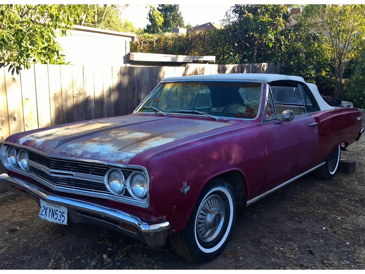 1965 Chevrolet Malibu (CC-912520) for sale in Gaviota, California