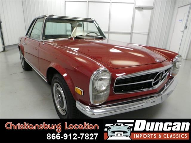 1968 Mercedes-Benz 280 (CC-913945) for sale in Christiansburg, Virginia